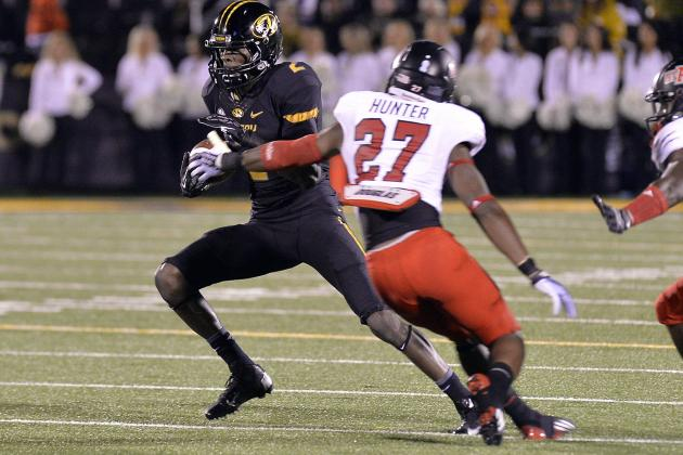 Missouri's Wide Receivers Pose a Big Problem for UK Football