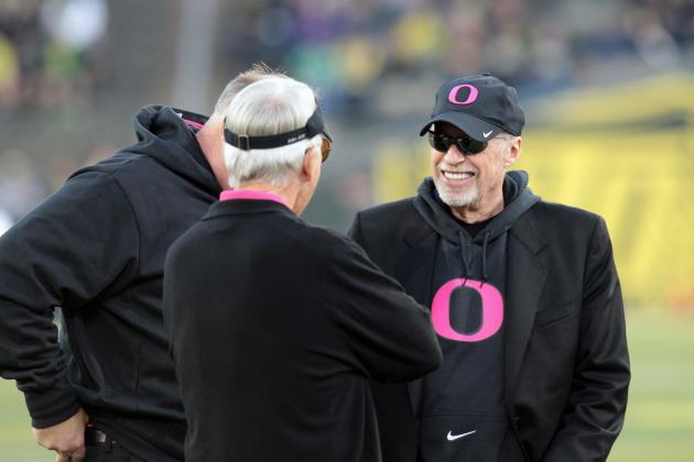 Phil Knight Talks About Oregon-Stanford