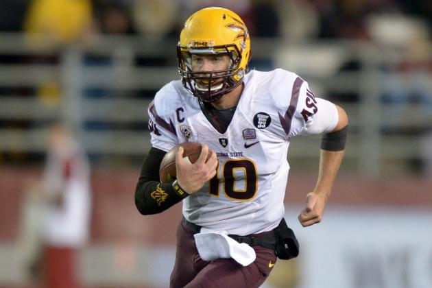 ASU's Taylor Kelly 'Getting More Confident' Running the Football