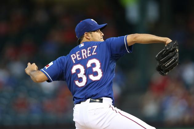Report: Perez's Extension Worth $12.5M over 4 Yrs