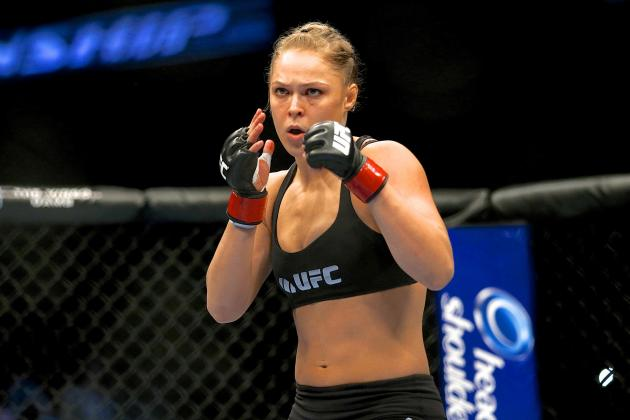 Ronda Rousey Needs to Dial Back the Insane-O-Meter a Few Notches