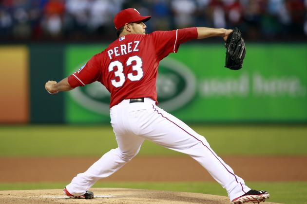 Texas Rangers Sign Martin Perez to 4-Year Deal