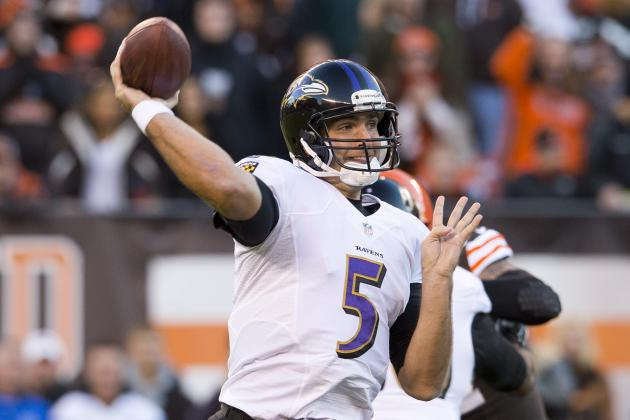 Joe Flacco's Deep-Ball Struggles Are Related to Anquan Boldin Trade