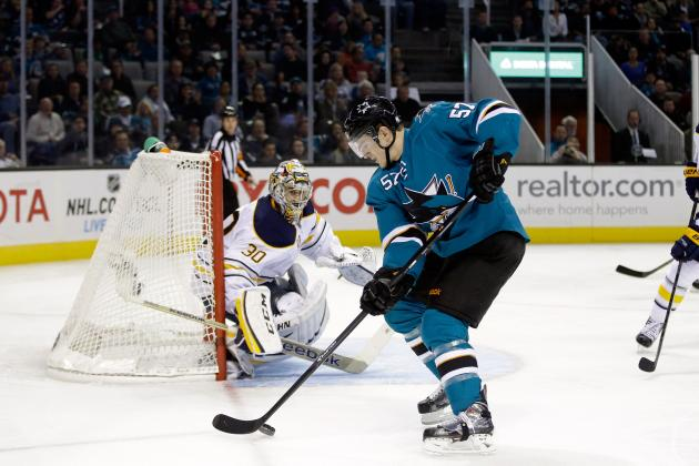 Wingels Retains Spot on Sharks' Top Line