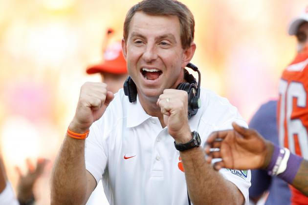 Dabo Swinney, Unlike His Own Players, Gets to Trademark and Profit off His Name