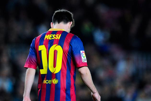 Lionel Messi Barcelona Form Nothing to Worry About