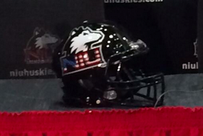 Photo: Northern Illinois Will Wear American-Themed Helmets vs. Ball State