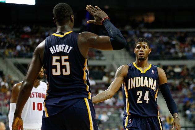 Indiana Pacers: Roy Hibbert Aiming for NBA Defensive Player of the Year Award