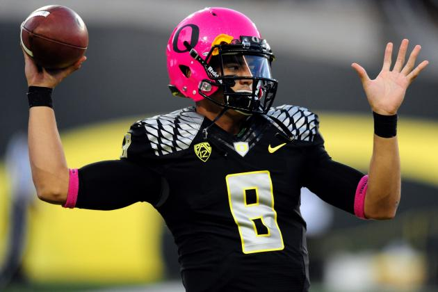 Marcus Mariota Can Extend Lead in Heisman Race with Statement Win over Stanford