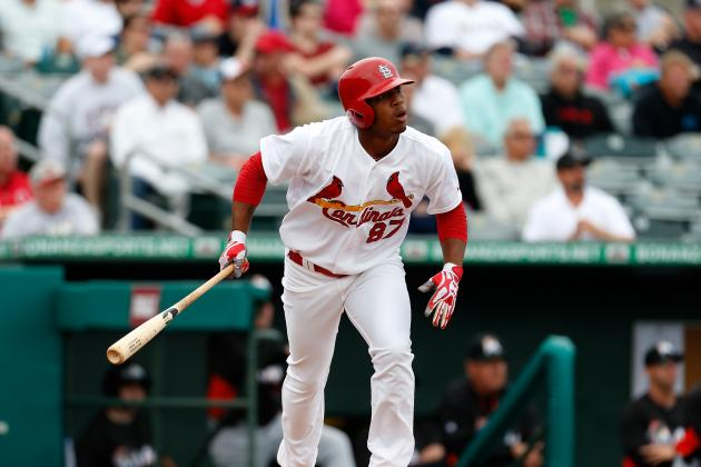 St. Louis Cardinals' Center Field Future Could Be Oscar Taveras