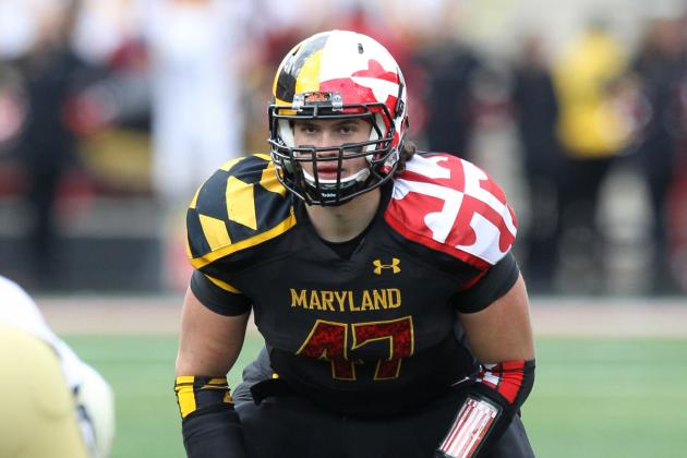 Terps Linebacker Cole Farrand out vs. Syracuse with Head Injury