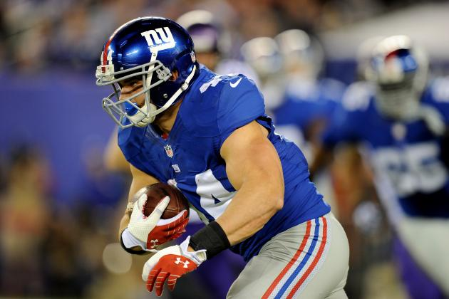 New York Giants: Which Running Back Should Get the Most Work Versus Oakland?
