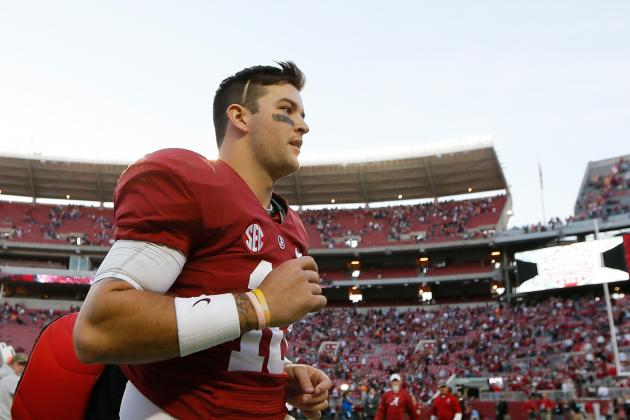 AJ McCarron Could Be Right Back in Heisman Race with Big Showing Against LSU