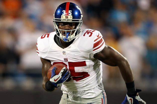 New York Giants Will Also Need Andre Brown to Step Up