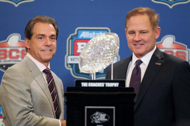 The Process vs. the Mad Hatter: Comparing Nick Saban & Les Miles Coaching Styles
