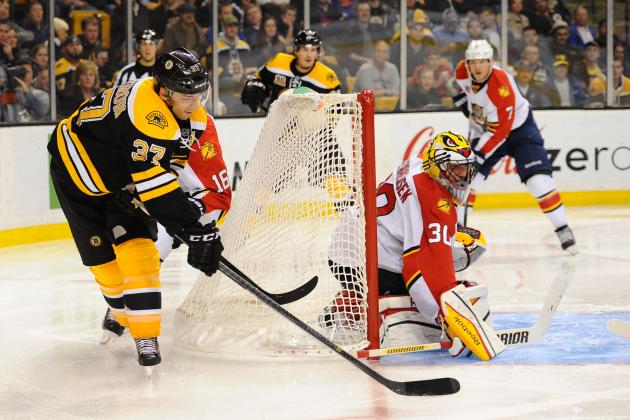 Rask Saves 29 as B's Overwhelm Panthers