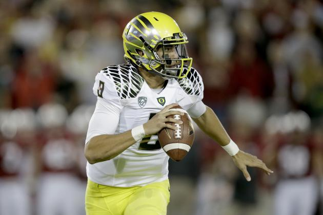Marcus Mariota's Updated 2013 Heisman Outlook After Loss to Stanford
