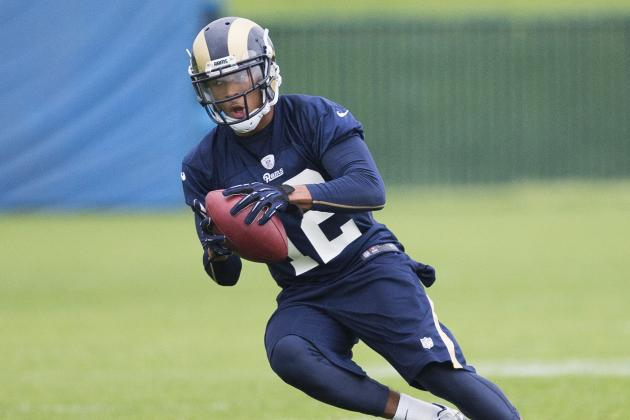 Rams Rookie Receiver Bailey Makes Progress