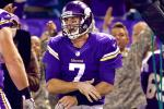 Ponder Dislocates Shoulder in Win Over Redskins