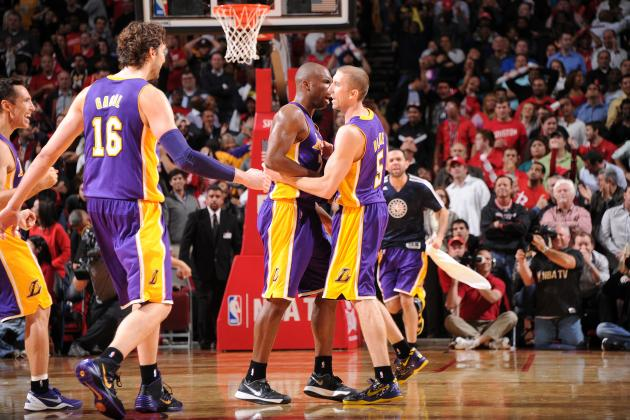 Steve Blake, Lakers Sharpshooters Exact Revenge on D12