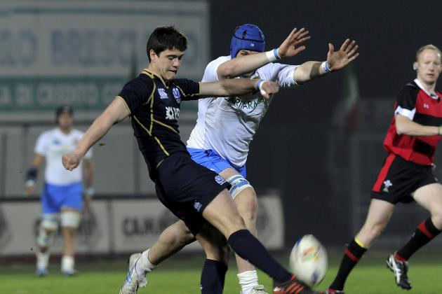 Scotland U20 Fly-Half Allan Set for Italy Debut