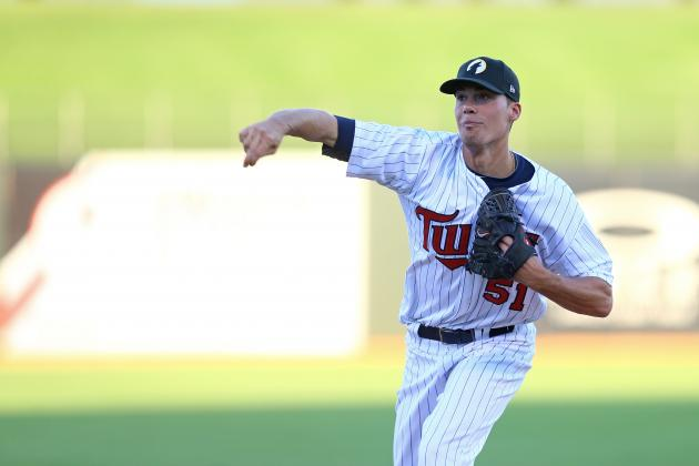 2013 Arizona Fall League's Hottest, Coldest Pitching Prospects