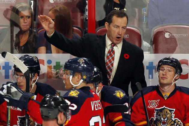 Florida Panthers Fire Head Coach Kevin Dineen