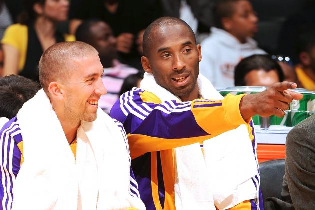 Video: Kobe Bryant Dishes His Nicknames for Thursday Night Hero Steve Blake