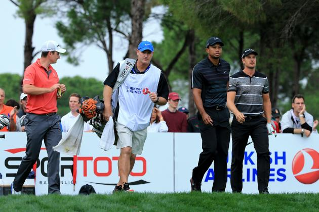 Henrik Stenson Leads but Tiger Woods Is Only 1 Shot Back in Turkish Open