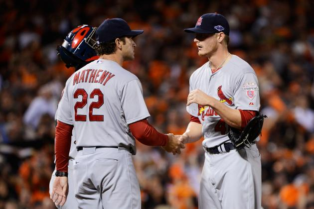 Matheny: Miller Is 'Top-of-Rotation-Style' Pitcher