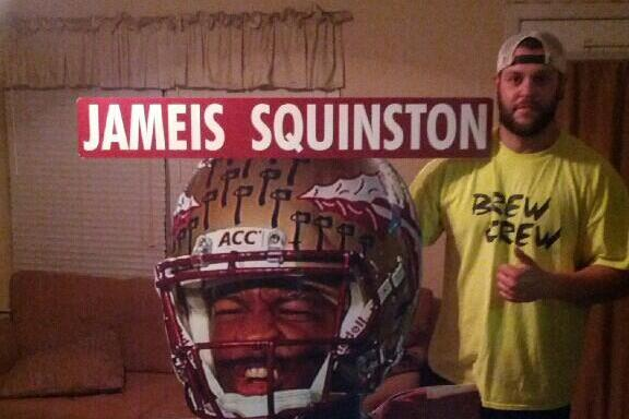 Be on the Lookout for This 'Jameis Squinston' Sign on College GameDay
