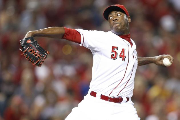 Is Brayan Pena Signing Final Clue to Aroldis Chapman Moving into Reds' Rotation?