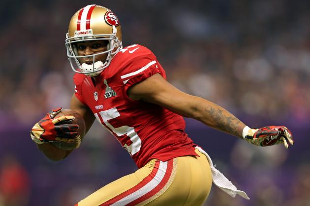 Michael Crabtree Returns to 49ers for First Time Since Achilles Tear