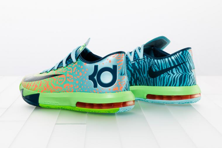 Nike Previews KD VI 'Liger' Colorway