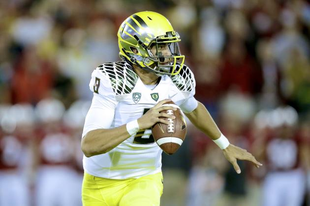 Marcus Mariota Injury: Updates on Oregon QB's Knee
