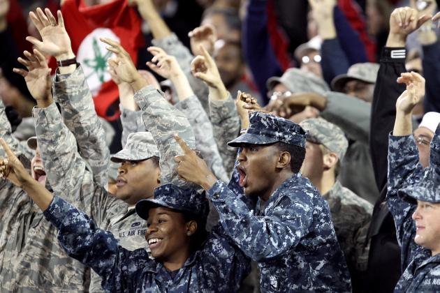 Armed Forces Classic 2013: Key Storylines for Oregon vs. Georgetown Tilt