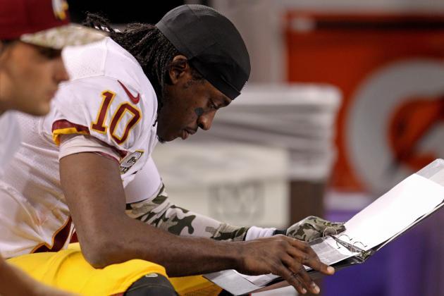 Don't Blame Robert Griffin III for Washington Redskins' Struggles