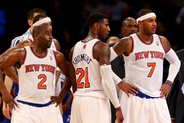 NY Knicks Hold Players-Only Meeting on Heels of Brutal Start