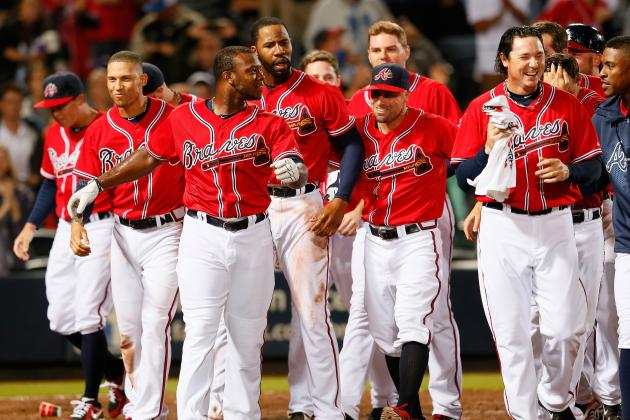 Top 10 Atlanta Braves Walk Offs in 2013