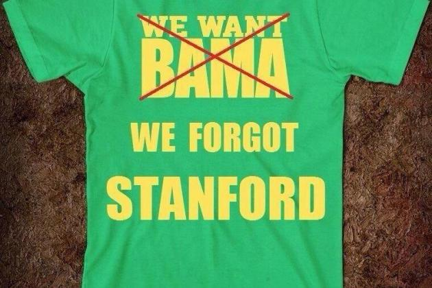 'We Forgot Stanford' Shirts Will Hold Place in Pantheon of Iconic Sportswear