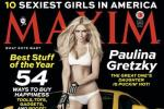 Paulina Gretzky Lands Maxim Cover