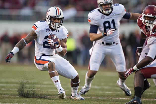 Auburn vs. Tennessee: Tigers' Running Game Will Take Vols' Crowd out of Game