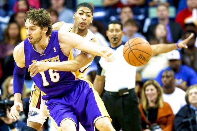 Los Angeles Lakers vs. New Orleans Pelicans: Live Score and Analysis