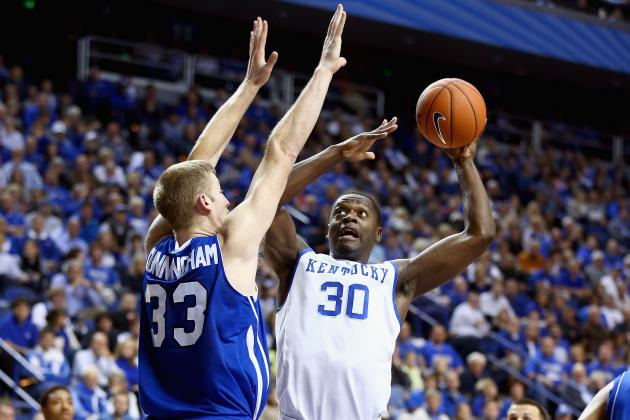 Julius Randle Shows Superstar Potential in Kentucky Wildcats Debut