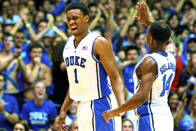 Jabari Parker Lives Up to Hype in First Career Game for Duke Blue Devils