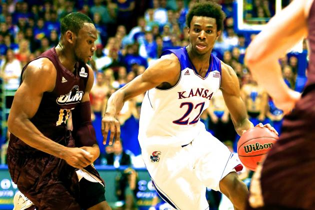 Andrew Wiggins' 1-Year Thrill Ride at Kansas Finally Underway