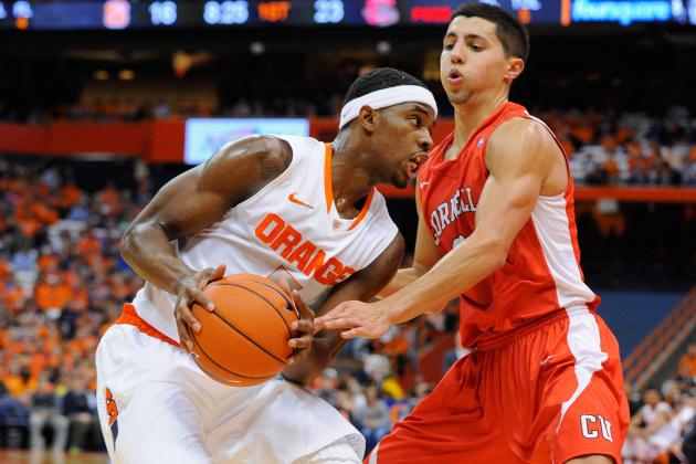 Fair Struggles from Mid-Range, Still Scores 19 in Syracuse's Win over Cornell