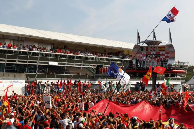 Will Safety Concerns Keep Fans Away from F1 Podium Ceremonies?
