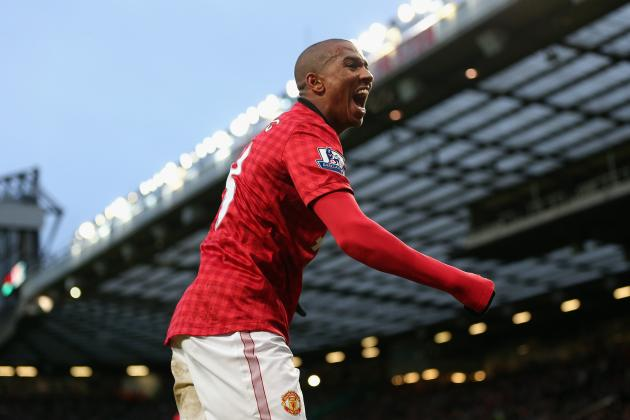 Manchester United Boss David Moyes Backs Ashley Young in Dive Row