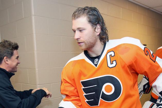 Report: Giroux in Minor Accident